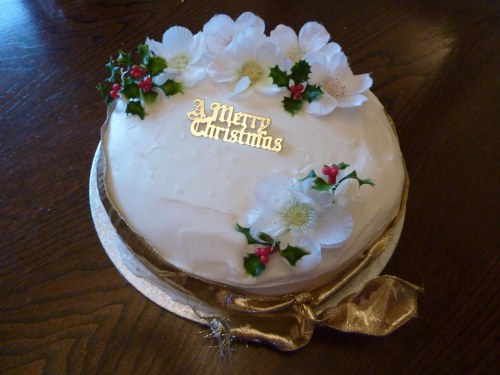 Christmas Cake 2012 - uncut