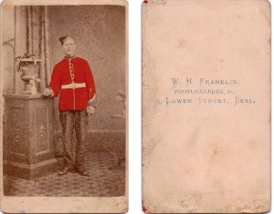 A Royal Marine, probably Frederick Chambers.