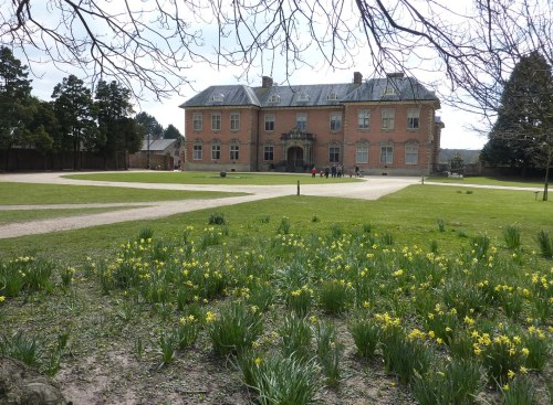Spring has come at Tredegar House