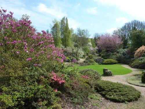 View across Quarry Gardens