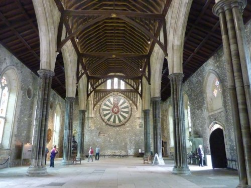 The Round Table in Winchester Great Hall