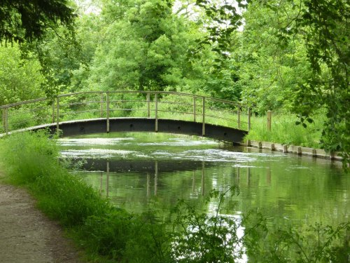 Bridge over the River Test at Mottisfont