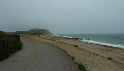 The road to Hengistbury Head