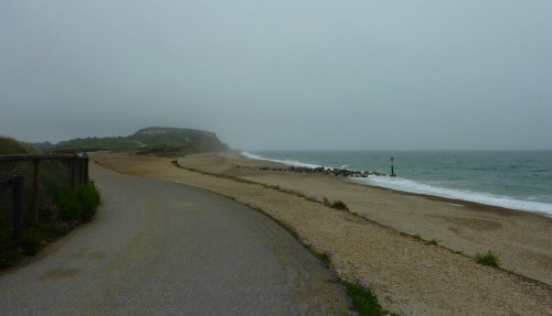 The road to Hengistbury Head