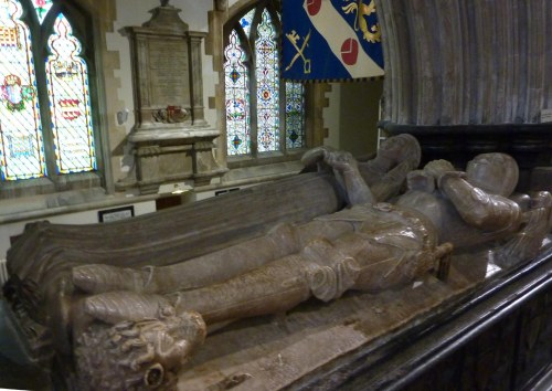 The Beaufort Tomb - parents of Margaret Beaufort and grandparents of Henry VII