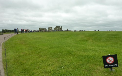 .... then the shuffle round the stones