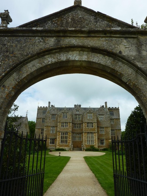 Entrance to Chastleton House