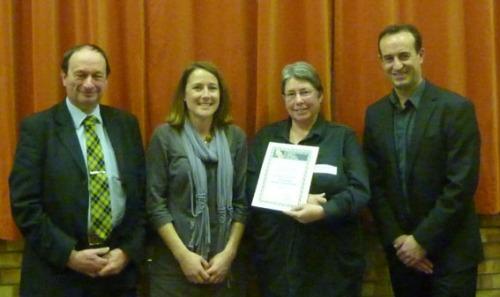 Presentation of the Geoff Riggs Award 2012