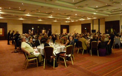 Table 4 and the rest of the room at the Banquet
