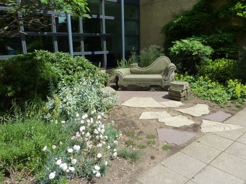 Chaise Longue - a stop on the Literary Tour